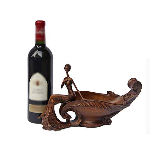 XUSHEN-HU Vino de la Botella de Vino en Rack Rack de Belleza Personalidad Estante del Vino de la Sala Estante de la Botella de Vino en Rack Decoración Creativa Muebles for el hogar Hogar