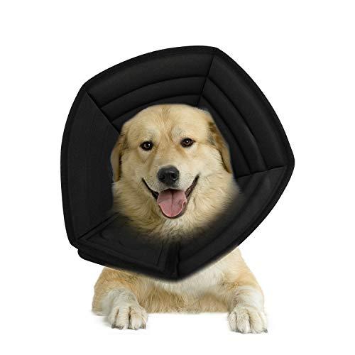 PETCUTE Schutzkragen für Hunde Katzen Trichter für Hunde weich schutzkragen leckschutz für Katzen Wundheilung Halsbänder Trichter Hund