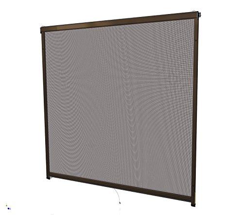 Rhino Screen Insektenschutz Rollo Fenster, 130 x 160 cm