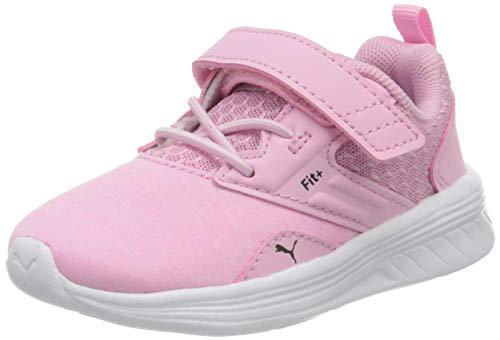 PUMA Unisex Baby Comet V Inf Sneaker, Pale Pink Black White, 21 EU