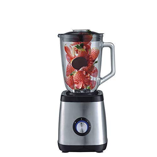 Save %17 Now! 350W Blender, with 1.5L Glass, with 2-speed Control Stainless Steel Smoothie Machine, ...