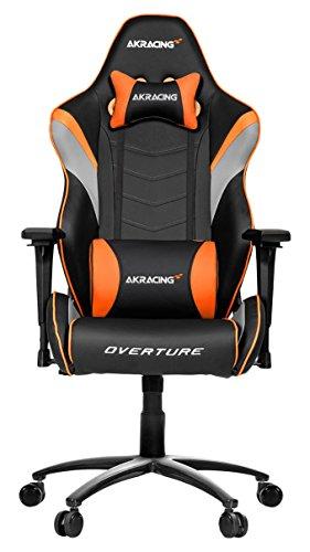 AKRacing Overture - AK-OVERTURE-OR - Silla Gaming, Color Negro/Naranja