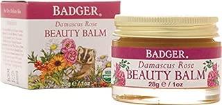 Badger Damascus Rose Beauty Balm - Certified Organic 28 g/1oz