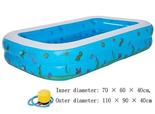 AXWT Aufblasbarer Swimmingpool Faltbare Wanne, verdickte Large Size Tub for Erwachsene, aufblasbare Badewanne Startseite Adult Paar Badebottiche, Baby-Swimmingpool beweglichen Spielraum Dusche Waschbe