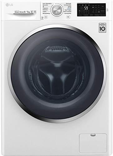 LG F 14WD 95TN2 EEK: A Waschtrockner 9 kg/5 kg, 1400 u/min, NFC-Waschprogramm-Download