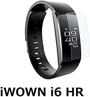 iWOWN i6 HR フィルム 液晶保護フィルム 液晶 保護 シート 液晶カバー SmartWatch (スマートウォッチ) 光沢フィルム film