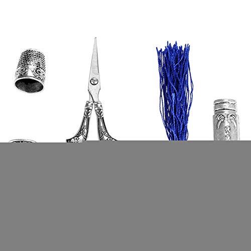logozoee Tijeras de Cocina de Acero Inoxidable de Vendaje multipropósito, Tijeras, Oficina para línea de Pesca para Hilo de Material
