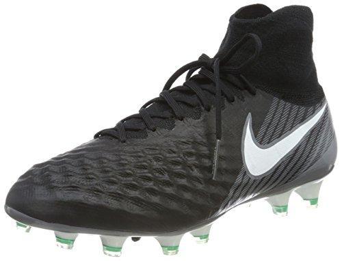 Nike Magista Obra II FG, Zapatillas de Fútbol para Hombre, Negro...