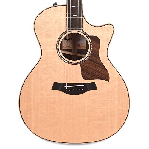 Taylor 814ce Grand Auditorium Sitka/Rosewood ES2 W/V Class Bracing, Smoked Nickel Tuners and Deluxe Hardshell Case