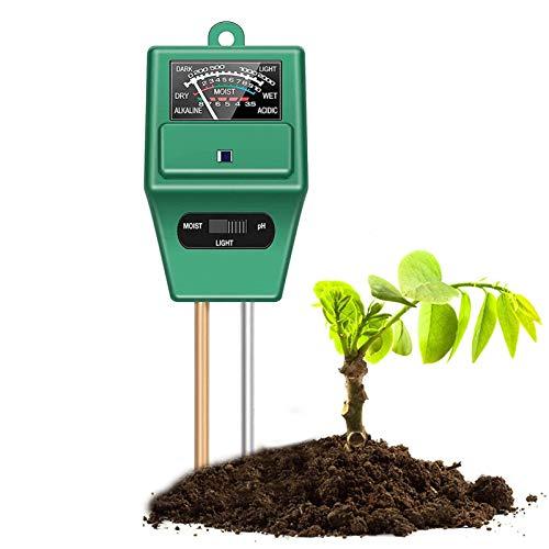Soil Test Kit,3-in-1 Soil Moisture/…