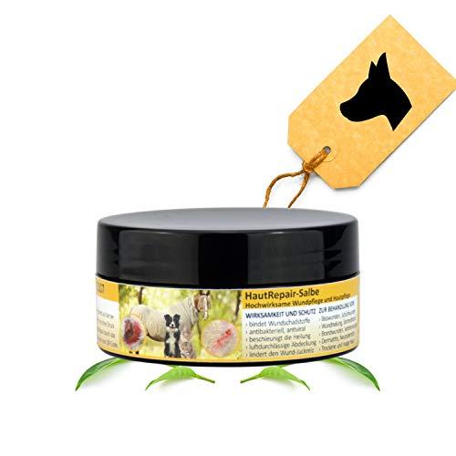 Peticare Wund-Salbe für Hunde, Pferde, Katzen - Anti-Bakteriell, Anti-Viral, Anti-Mykotisch, bei starkem Juckreiz, Bisswunden, Schürfwunden - petAnimal Health 2107