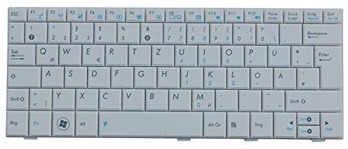 NExpert Orig. deutsche QWERTZ Tastatur für ASUS Eee PC R101 R101D R101X R105 R105D Serie DE Weiss NEU