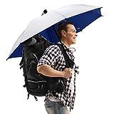 G4Free Liteflex - Paraguas de senderismo ultraligero y reflectante, color plateado