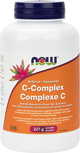 NOW Buffered C-Complex PWD, 227 g