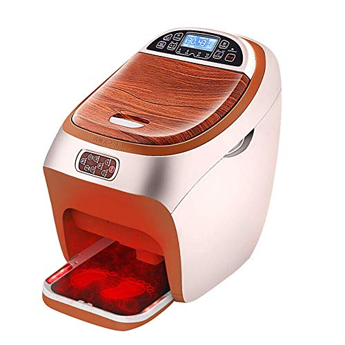 Review POEO Foot Spa Massager Machine, with Infrared Heat LCD Display Pedicure Foot Bath for Foot Ca...