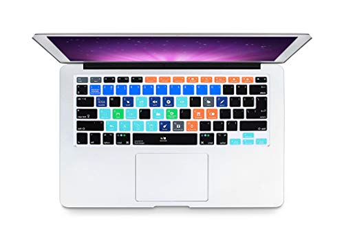 Slim A Logic Pro X Avid Pro Tools Sneltoets Toetsenbord Cover Huid Voor Macbook Pro Air 13 15 17 Voor 2016 Eén maat Fruitige lussen