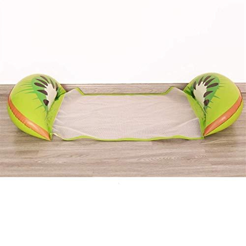 Confortevole acqua galleggiante Amaca Gommino gonfiabile Letto galleggiante reclinabile frutta cintura del vento boa adulto e bambino gonfiabile galleggiante fila estate estate nuoto all'aperto