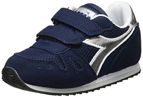 Diadora Simple Run TD Girl, Patucos Niñas, Nero C8894, 27 EU
