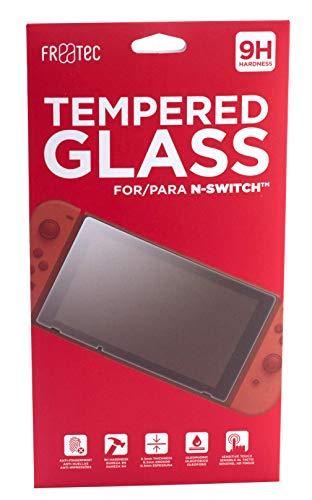 FR·TEC - Protector de pantalla de cristal templado para Nintendo Switch