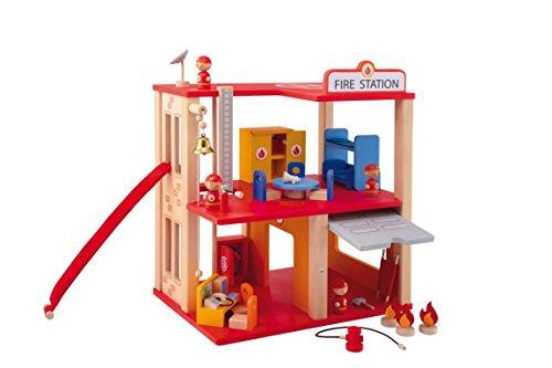 Sevi 82724 - Feuerwehrwache, Kinder-Rollenspiel