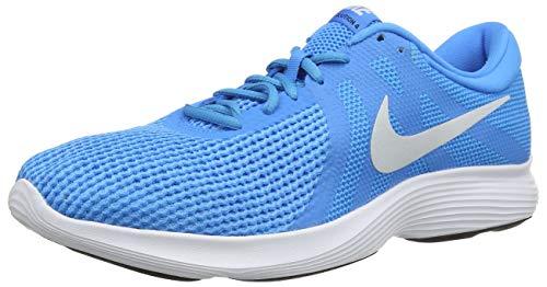 Nike Revolution 4, Zapatillas de Running Hombre, Azul (Blue Hero/Pure Platinum-Blue Glow-Black 441), 45.5 EU