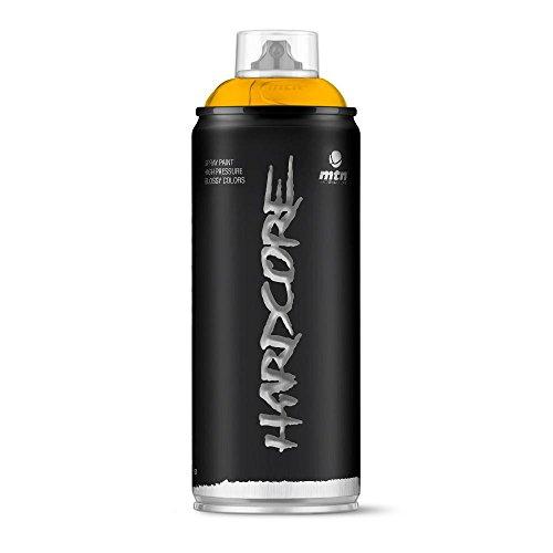 Montana Colors - Spray pintura brillante 400 ml amarillo luxor