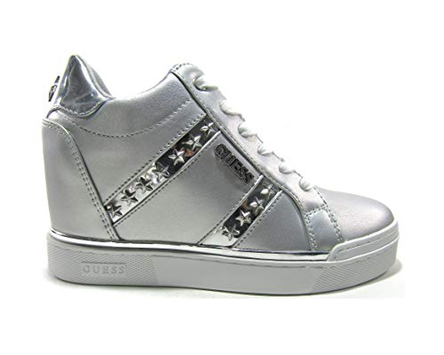 Guess Sneakers Donna MOD. FL5FAY Argento 38