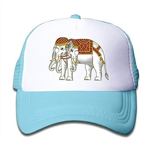 Preisvergleich Produktbild Voxpkrs Asiatischer Elefant Clipart auf Kinderfernlastfahrer-Hut,  Jugend-Kleinkind Baseballmütze Schönes 29053