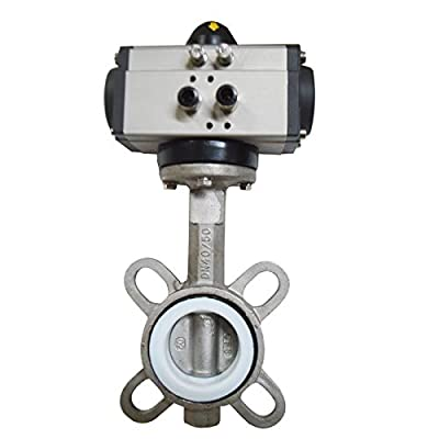 2'' Double Acting Butterfly Valve Pneumatic Air Actuated Ball Valve Ball Check from Tool