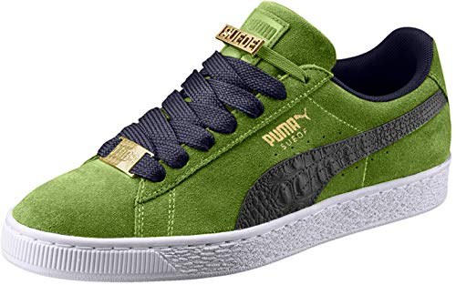 PUMA Suede Classic Bboy Fabulous Fashion Sneakers - 9M - Forest Green/Peacoat