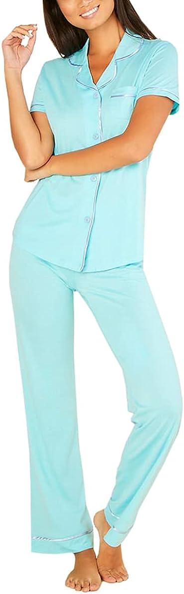 Cosabella Women's Bella Short Sleeve Top & Pant Set