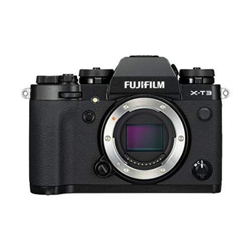 Fujifilm X-T3 Fotocamera Digitale, 26 MP, Sensore X-Trans CMOS 4 APS-C, Filmati 4K 60p 10bit, HDMI Out 4:2:2, Mirino EVF 3.69 MP, Schermo LCD 3
