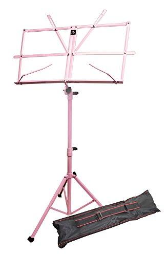 Windsor verstellbare Musik Falzbogen stehen mit Fall rosa carry