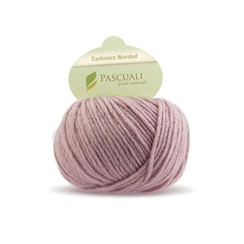 25 g Pascuali Cashmere Worsted |100% Kaschmirwolle, Farbe:Rosé 603