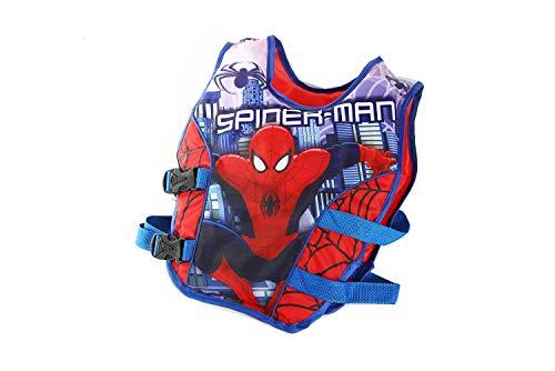 JKSPORTS Life Jacket Learn-to-Swim Buoyancy Aid Vest Children Float Vest Kids Swimming Training Jacket Learn to Swim for Boys Girls Begin to Swim Cartoon Swim Vest (Spiderman, Large)