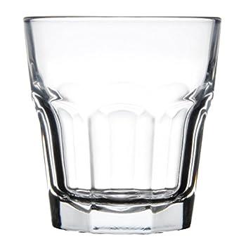 Libbey 15243 Gibraltar DuraTuff 12 oz Double Rocks Glass  SET OF 6 w/ FDL Party Picks
