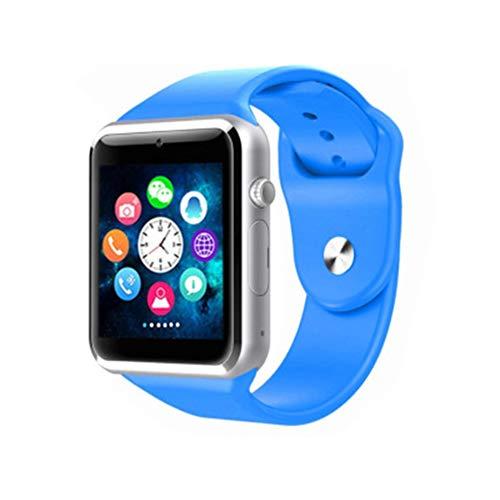 LIUJING Kinderen Smart Horloge Digitale Camera Horloge met GPS positionering, Muziekspeler, Stappenteller Tellen, Kaartbare Bluetooth Telefoon Horloge, 1,5 inch Touch LCD