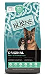 Burns Pet Nutrition Hypoallergenic Complete Dry Dog Food Adult and Senior Dog Original Fish and...