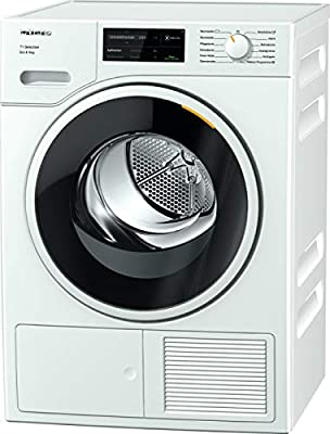 Miele TSJ663WP Freestanding Heat Pump Tumble Dryer, WiFi Connected, 9kg Load, White