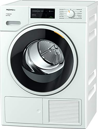 Miele TSJ663WP Freestanding Heat Pump Tumble Dryer, WiFi...