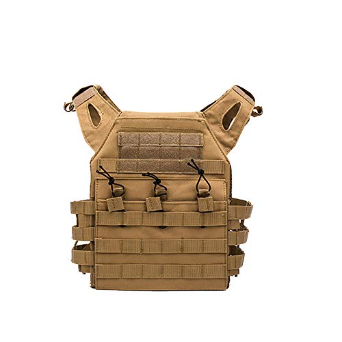 YaptheS Chaleco táctico Pecho Camuflaje Airsoft Molle