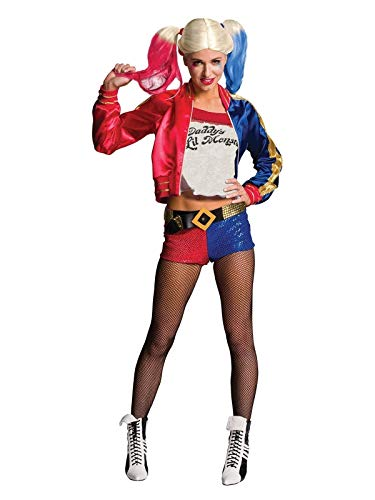 Harley Quinn (Deluxe) Suicide Squad - Adult Costume Lady : LARGE