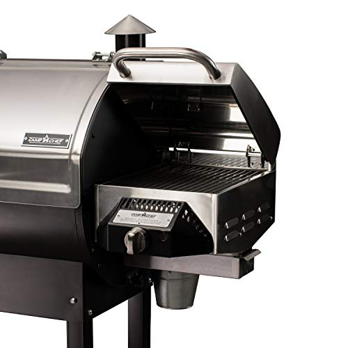 Camp Chef BBQ Sear Box Grill Accessory, Stainless Steel, Dimensions: 11.5 in. x 16 in  - 50% Boxes Customers Eligible for garden It Keep lawn Monthly patio Payments Products Smoker