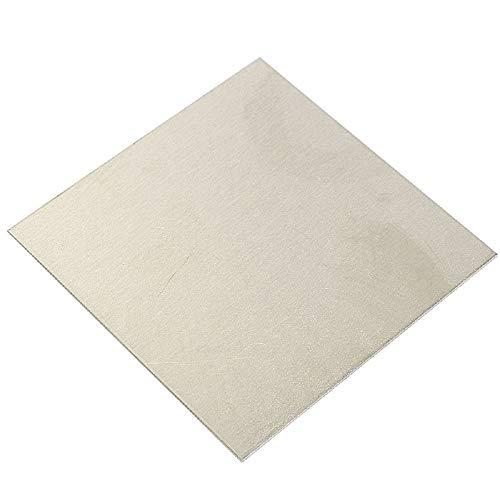 MXBAOHENG 99,96% reines Nickel-Blech Ni Metall dünne Nickelplatte, HQ-2336, 1x100x200mm