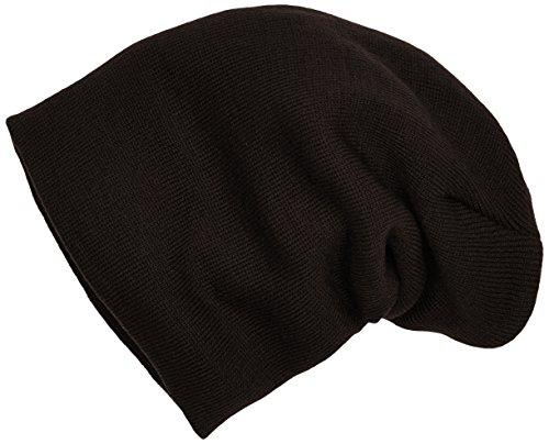 MSTRDS Bonnet Unisexe Basic Flap Version Longue. Taille Unique Chocolat