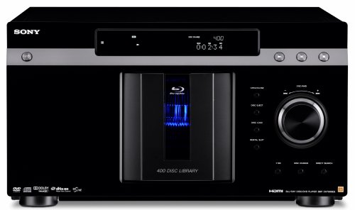 Sony BDP-CX7000ES 400 Blu-ray Disc Mega Changer (Black) (2009 Model)