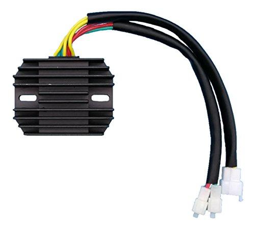 Tuzliufi Replace Voltage Regulator Rectifier Honda VT1100 VT 1100 C3 Aero C2-2 Ace T Tourer C Shadow C2 Sprirt 1987-1990 1991 1992 1993 1994 1995 1996 1997 1998 1999 2000 2001 2002 2003 2004 2005 Z47