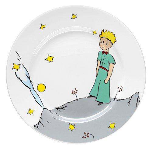 WMF Der kleine Prinz Kindergeschirr Kinderteller, Ø 19,0 cm, Porzellan, spülmaschinengeeignet, farb- und lebensmittelecht