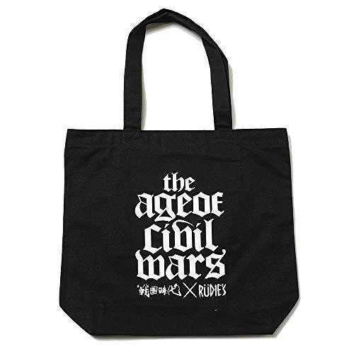 (ルーディーズ) RUDIE'S×戦国時代 T.A.O.C.W TOTEBAG (BAG)(85139-BK) バッグ 鞄 トート RPGツクールMV Trinity 国内正規品 F ブラック