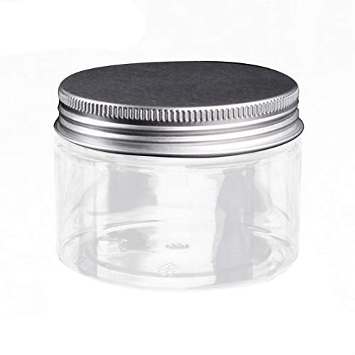 Frasco cosmético vacío, tapa redonda de aluminio, bálsamo labial, maquillaje, caja de embotellado, plástico, vacío, crema rellenable, mascarilla facial, contenedor de loción, frascos cosmético